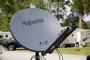 HughesNet Satellite Dish