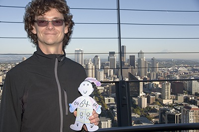 Flat Stanley Visits Seattle, WA