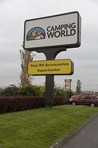 Camping World Sign