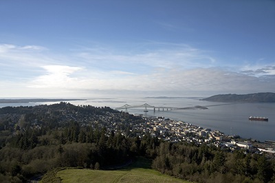 Astoria and the Mouth of the Columbia River