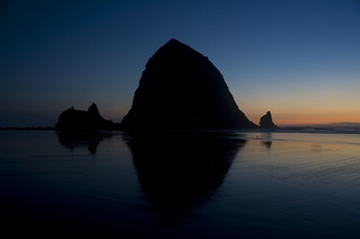 Cannon Beach Last Light