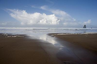 Sand, Sea Rock & Sky