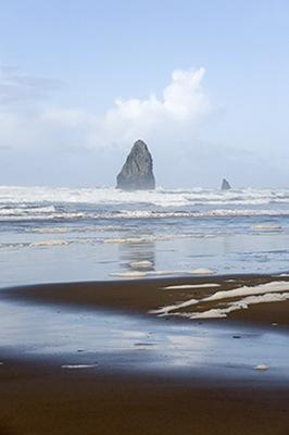Sand, Sea Rock & Sky II