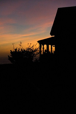 Mendocino Sunset - Ford House