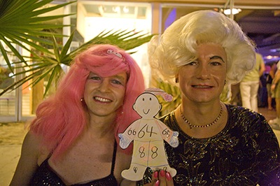 Flat Stanley Looking for Ghosts and Goblins During Halloween in Palm Springs, CA