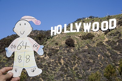 Flat Stanley Goes Hollywood