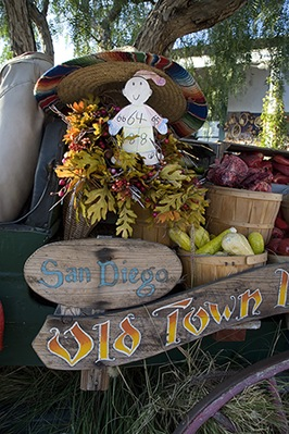 Flat Stanley in Old Town San Diego