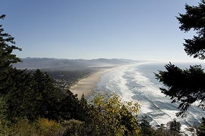 Pacific Coast Scenic Byway Route 101 Vista