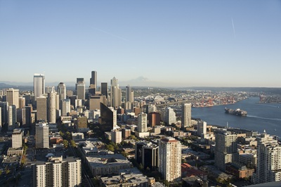 Seattle Cityscape I