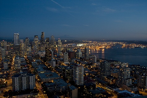 Seattle Cityscape III