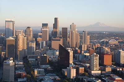Seattle Cityscape II