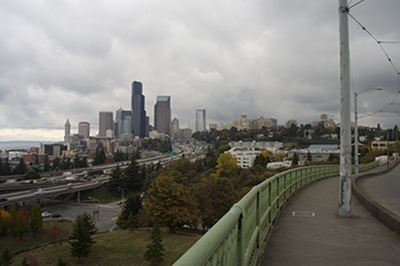 View of the City from Dr. Jose Rizal Bridge