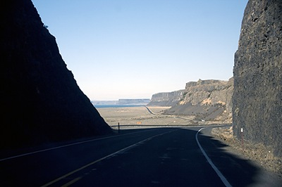 Up Route 17 to Dry Falls