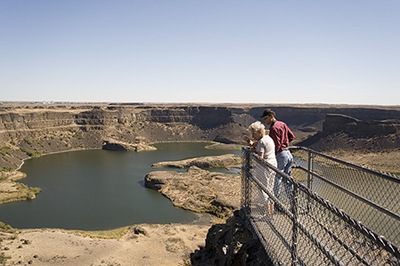 Dry Falls From Above IV